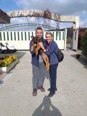 Cassie yeni ailesi ile Ankara'ya gidiyor